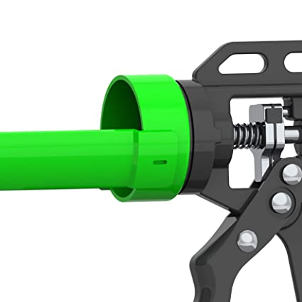 1 Quart Albion B12Q B-Line Manual Cartridge Caulking Gun 12:1 Drive Closeout
