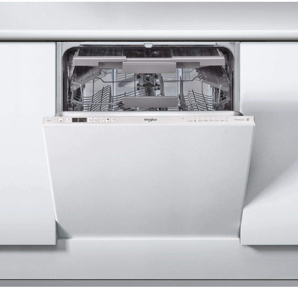 Whirlpool lavavajillas integrable wic3c26pf blanco a++: 369.39 ...
