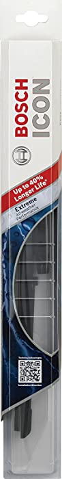 """Bosch ICON 22OE Wiper Blade, Up to 40% Longer Life - 22"""" (Pack of 1)"""