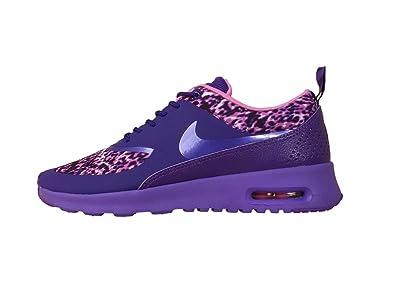 competitive price 0d178 62a21 Nike WMNS Air Max Thea Imprimer, Leopard-Cour PurpleHyper Grape-LT