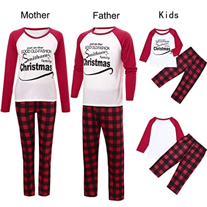 Amazon.com   Iusun Family Christmas Pajamas Matching Sets 07234706d