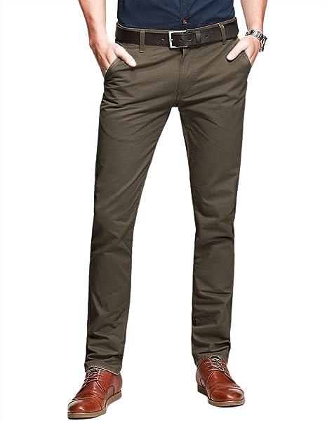 Match 8025 - Pantalón chino tapered para hombre o8R6w