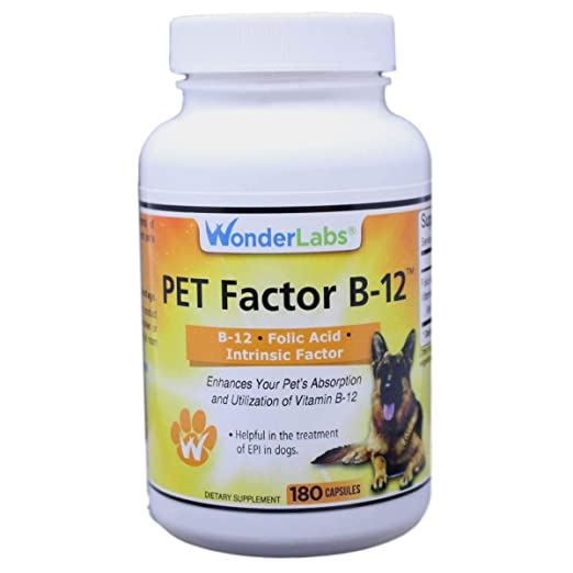 Amazon.com: WonderLabs Pet Factor B-12 - Vitamina B-12 en ...