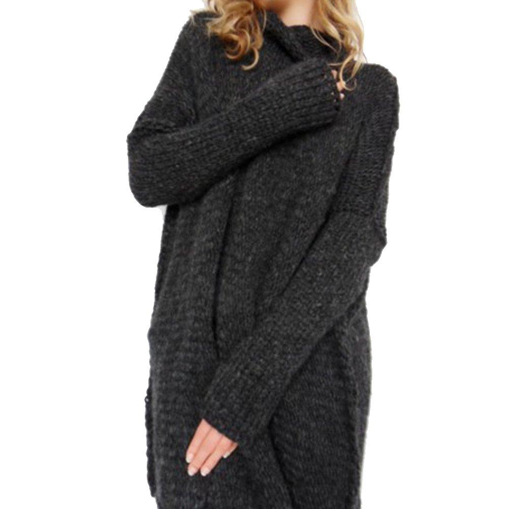 BIUBIONG Maglia Maglione Da Donna Collo Alto Blouse Inverno Di 8 Colori (S-XL) AC0020