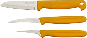 Kom Kom Fruit and Vegetable Carving Knives Set C