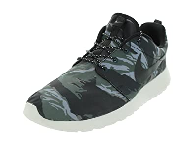 db2af60a99 Nike Mens Roshe Run GPX Black Asail Mercury Grey Black 555445-001