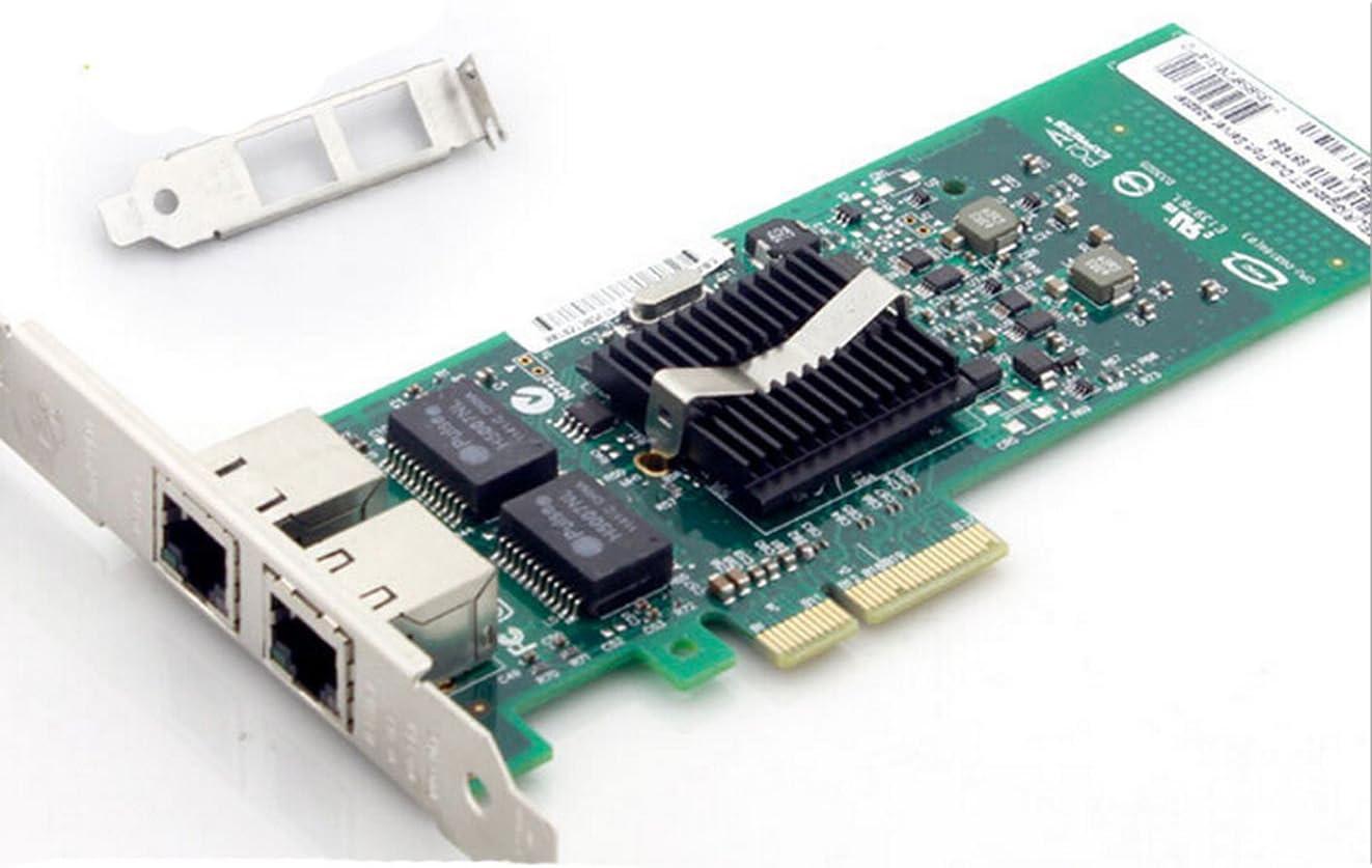 Dual-port 82576 Gigabit Ethernet Server Adapter PCI-E Gigabit Ethernet Dual port E1G42ET