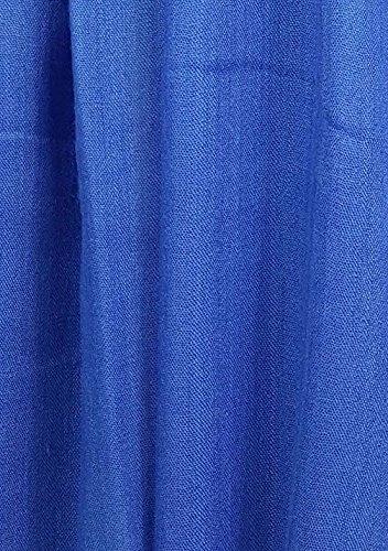 GFM/® Sciarpa morbida di alta qualit/à in tinta unita per luso diurno o serale in primavera ed estate. PLN-60-MOD