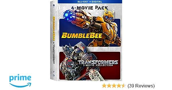 Amazon com: Bumblebee & Transformers Ultimate 6-Movie