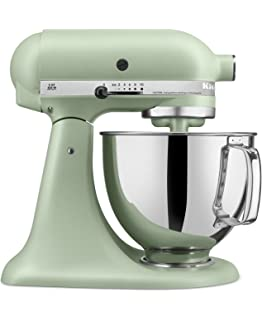 Delicieux KitchenAid RRK150PI Artisan Series 5 Qt. Stand Mixer With Pouring Shield    Matte Pistachio