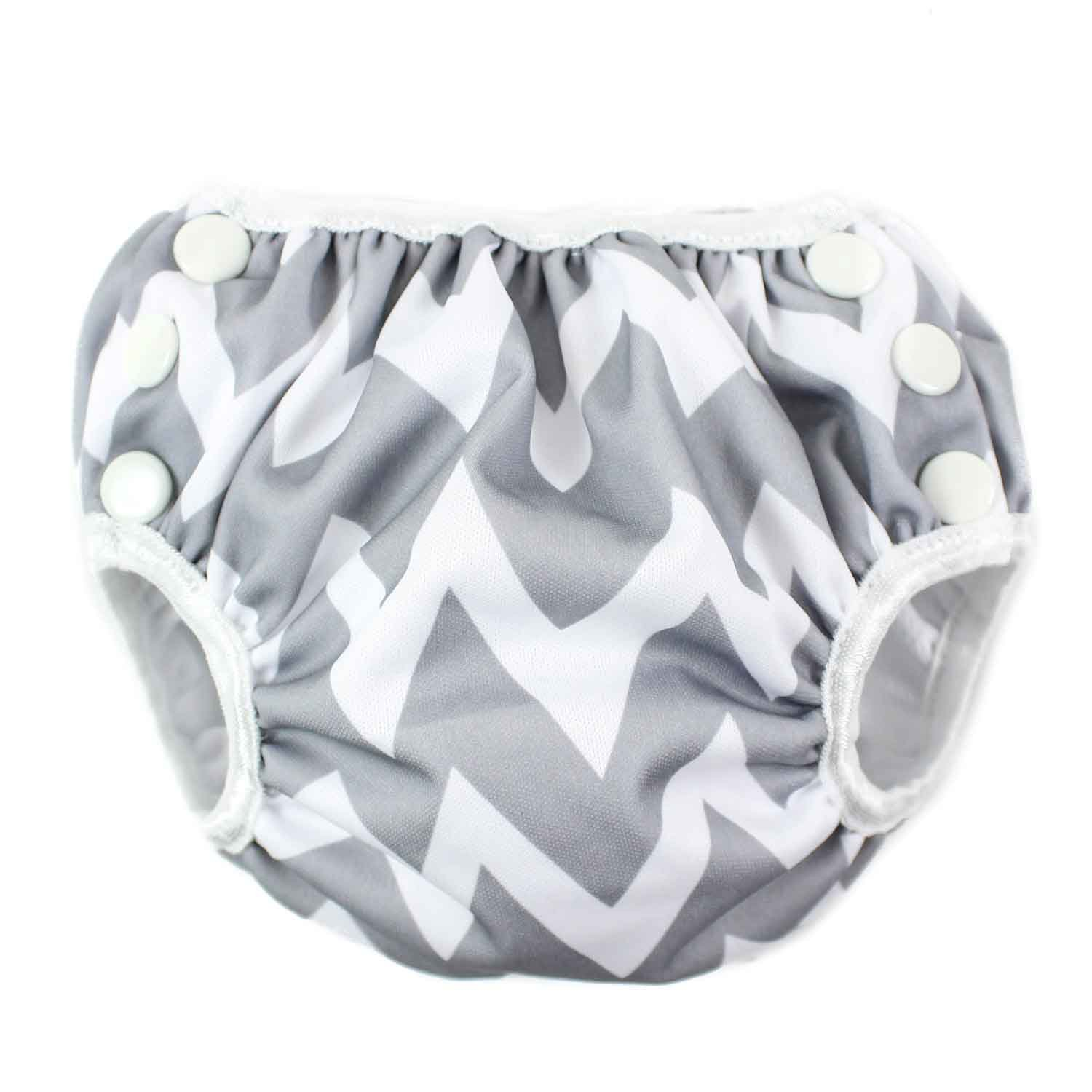 Bumkins Reusable Swim Diaper, Raindrops, Small SD-167-S