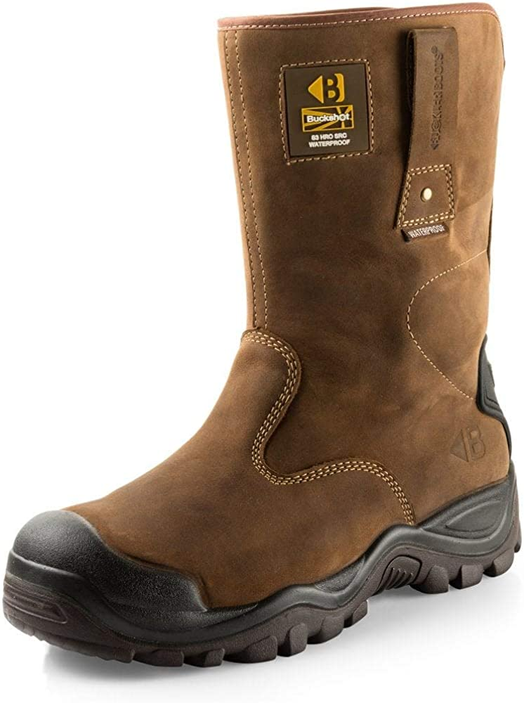 Waterproof Safety Rigger Work Boots