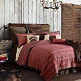 HiEnd Accents 3-PC Reversible Rushmore Quilt Set, King
