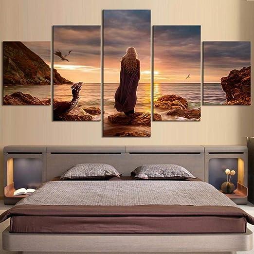 Muraon HD Imprimir Pintura Decoración para el hogar Lienzo 5 ...