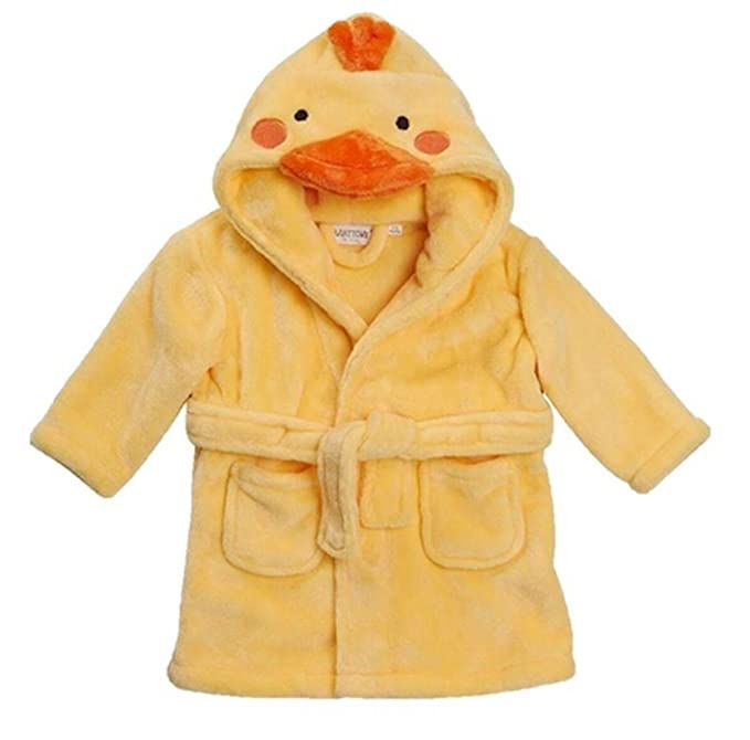 Amazon.com: Baby Town Childrens Dressing Gown Robes Novelty Duck ...