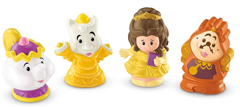 Fisher Price Little People Disney Princess & Friends Figure Set of 4 - Belle, Cinderella, Jasmin & Rapunzel by Disney Princess (Image #3)