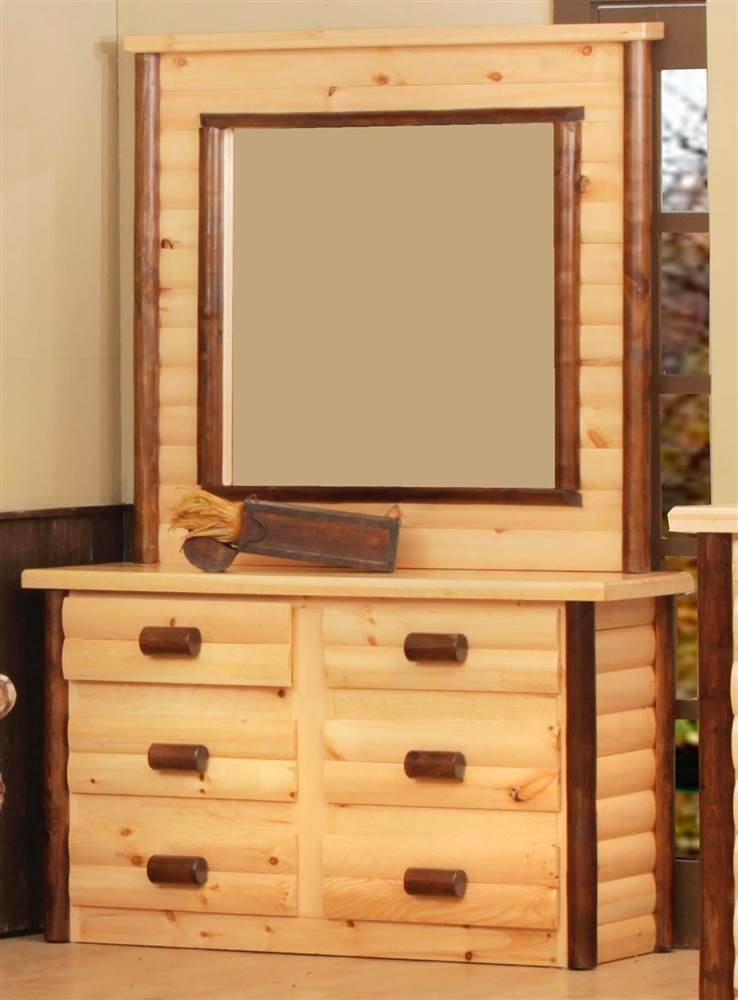 Amazon Com Chester 6 Drawer Dresser With Mirror Kitchen Dining