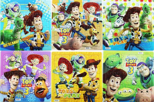 Assorted Toy Story 42 Piece Puzzle (3 Pack) - Childrens Beginner Puzzles