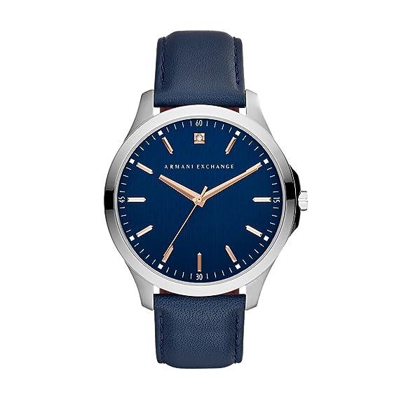 37f58409a Armani Exchange AX2406 Reloj para Hombre, color Azul: Amazon.com.mx ...