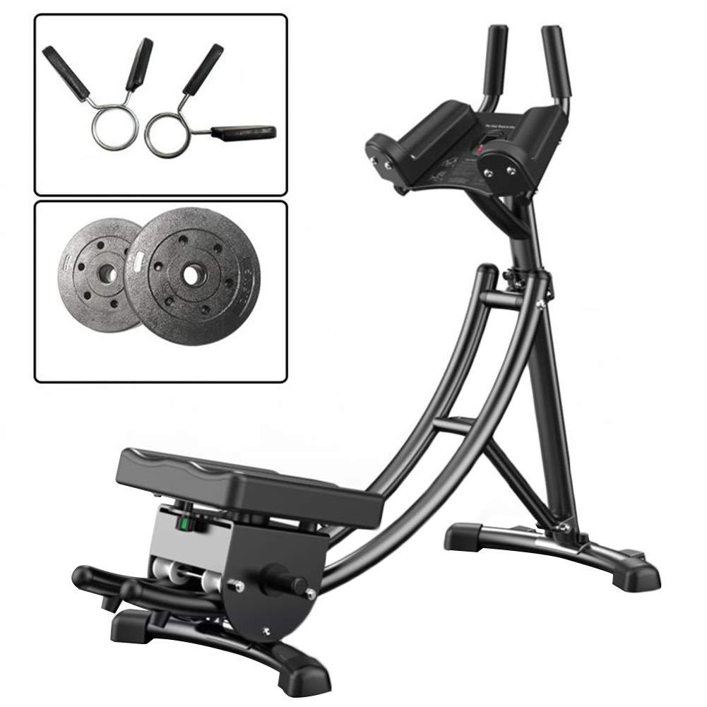 JIANFEI 腹筋トレーニング 電子カウンター 脂肪を減らす 高さ調節可能 家庭 耐荷重性 150KG 、3種類 (色 : C, サイズ さいず : 1290x650x1265mm) 1290x650x1265mm C B07NPNVYQ7