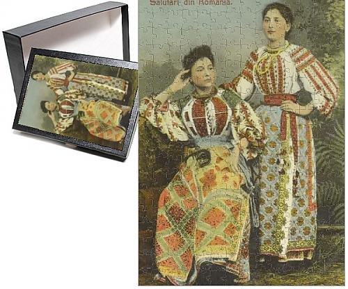 Costume National Romania (Photo Jigsaw Puzzle of Romanian Women - Traditional costume)