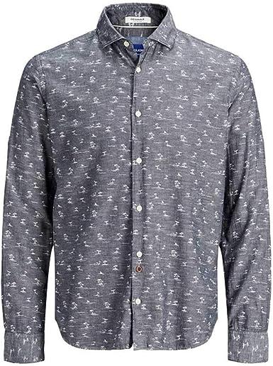 JACK&JONES 12170683 Jordan - Camisa para hombre: Amazon.es: Ropa
