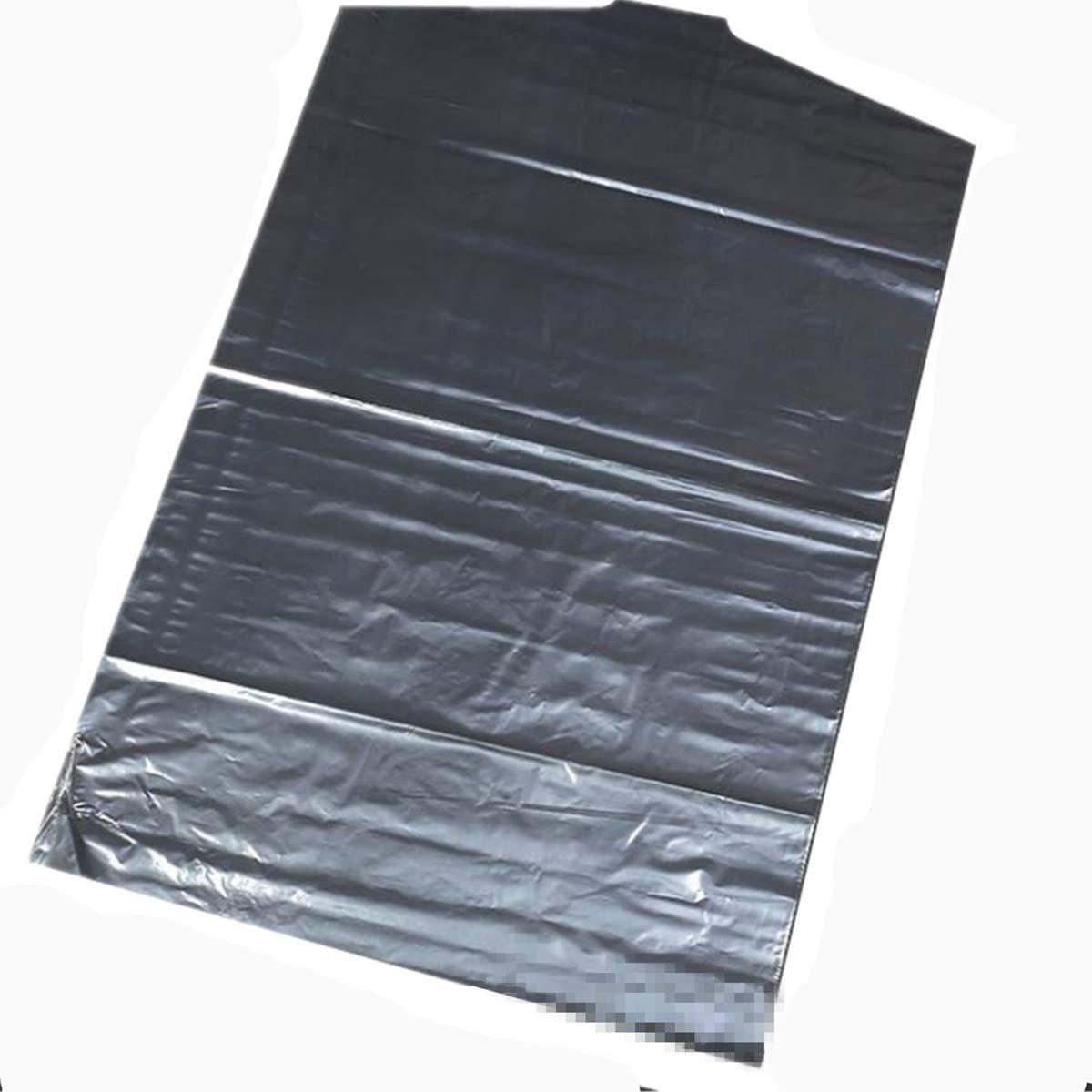 Bolsa de Almacenamiento de pl/ástico Transparente para Ropa y Polvo 0.015 pulg SZBTF para Colgar Ropa 35.4X23.6 IN