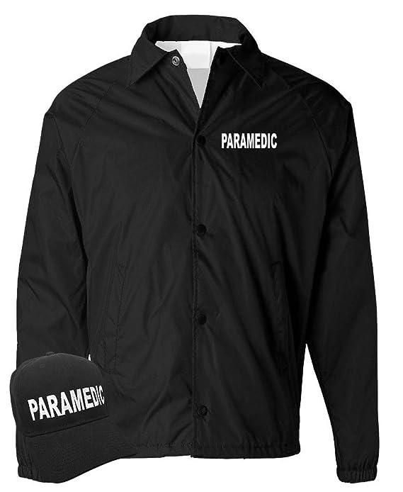 6978978d222 Paramedic - EMS Emergency Services EMT - Coach Jacket + HAT Combo