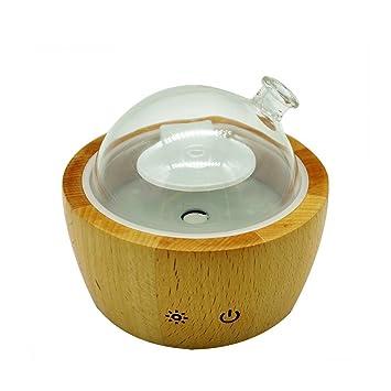 Warm Mist Ultrasonic Wood And Glass Essential Oil Aroma Nebulizing  Diffuser, Aromatherapy Vaporizer