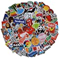 Stickers Pack Cool 100 Pcs Vinyl Waterproof Stickers For Laptop Luggage Car Skateboard Motorcycle Bicycle Decal Graffiti Patches Stickers 2