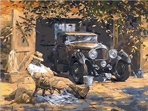 paint by number classic cars - 2