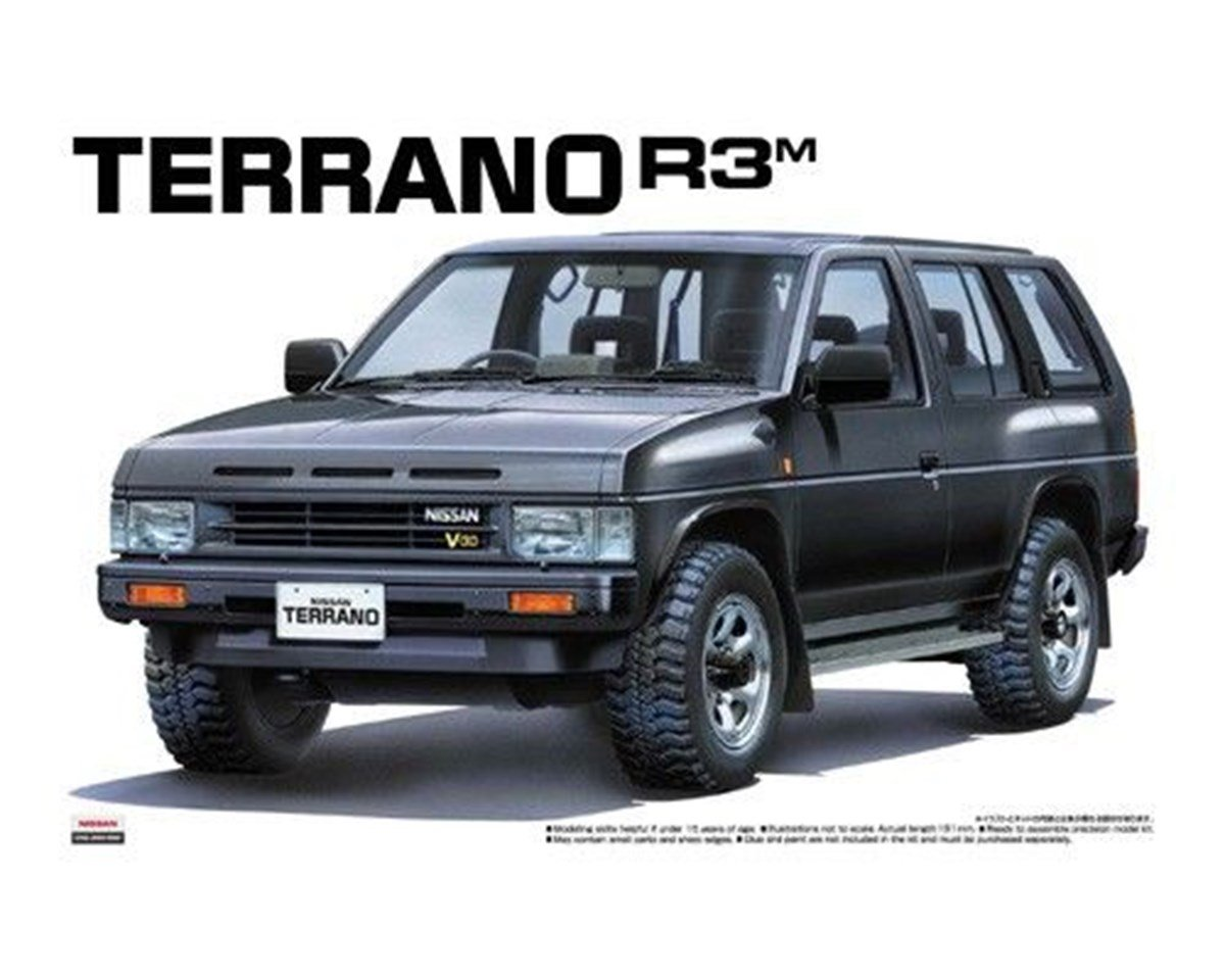 1/24 Terrano R3M `91 (Pathfinder) (Model Car) Aoshima The Best Car GT|No.98