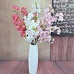 XHSP-5pcslot-Altitude-Artificial-Sakura-160-Heads-Fabric-Cherry-Blossom-Peach-Flower-Home-Wedding-Party-Decor
