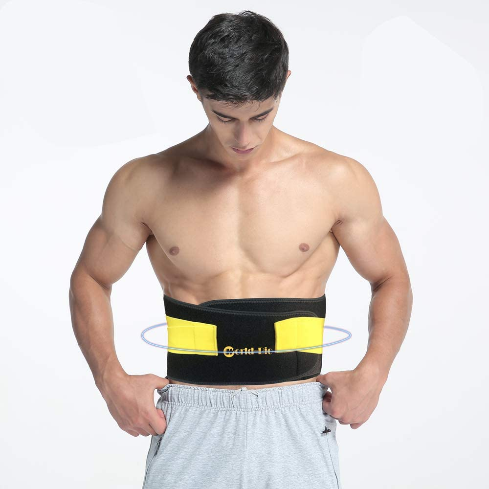 Back Pain Cold Ice Pack - Reusable Hot Cold Brace for Lower Lumbar, Waist, Abdomen, Hip Back - Pain Relief for Sciatica, Coccyx, Scoliosis Herniated Disc, Injuries - Back Support Belt for Men Women