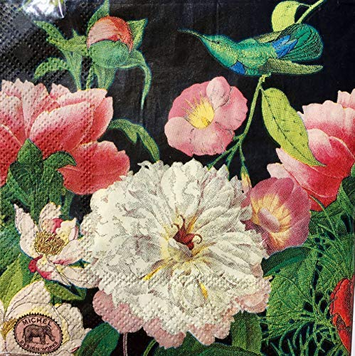 Blossom Napkin - Michel Design Works Peony Blossom Paper Luncheon Napkins, 20 ct