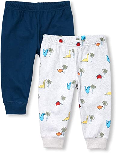 The Childrens Place Baby Boys Novelty Printed Shorts Set Shorts
