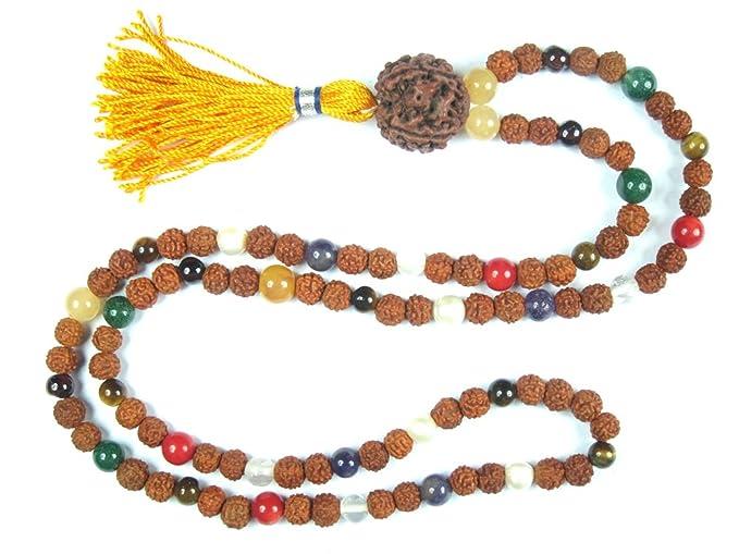Amazon.com: Spiritual Mala Beads Raise Your Vibration Yoga ...