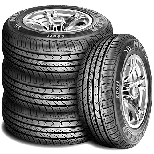- Set of 4 (FOUR) MRF Wanderer Sport Performance All-Season Radial Tires - 205/60R16 92H
