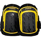 HEAVY DUTY CONSTRUCTION KNEE PADS - Thick Foam + Gel Pad for Extra Comfort   Durable Reinforced Stitching   Non-Slip & Adjustable For Cleaning, Yard, Flooring, Professional Work   Includes Mesh Bag