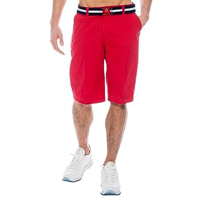 TR Fashion Mens Bahamas Belted Walking Shorts