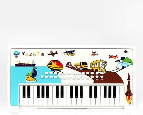 JTQMDD Instrumento Inspirador, Piano de Dibujos Animados para ...