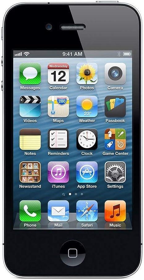 Apple Phone 4 - Smartphone libre (16 GB, pantalla táctil de 8,9 cm ...
