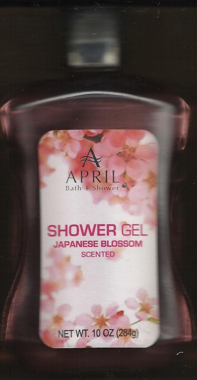 April Bath and Shower Japanese Blossom Scented Shower Gel 10 Oz (2 Pack) ARIL PRODUCTS