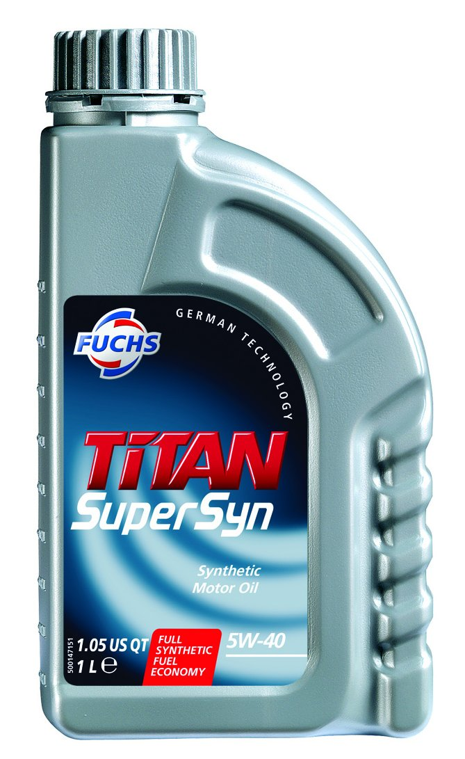Titan supersyn SAE aceite de motor 5 W40 1 Litros: Amazon.es: Coche y moto