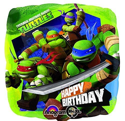 Teenage Mutant Ninja Turtle Birthday Mylar Balloon in Bulk ...