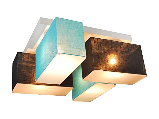 Sostituire Plafoniera Con Lampadario : Lampada da soffitto con coperture blejl s scwed in legno