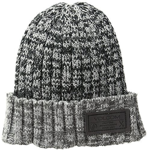 Volcom Beanie Winter (Volcom Big Boys' Powder Beanie, Black, O/S)