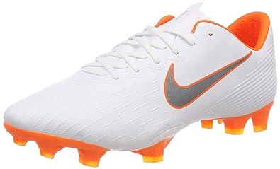 new york 3ef88 b789d Nike Mercurial Vapor 12 FG Pro, Chaussures de Football Homme, Blanc (White
