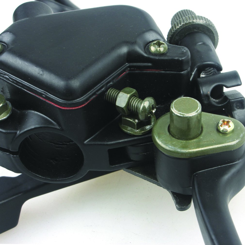 Wingsmoto Thumb Throttle with Dual Brake Lever Assy for 50cc 90cc 150cc 250cc ATV Quad Roketa Taotao Sunl Kazuma by Wingsmoto (Image #4)