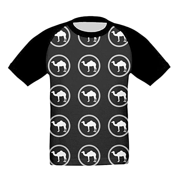 Amazon Camel Silhouette Art Funny Children Tee Junior Fashion